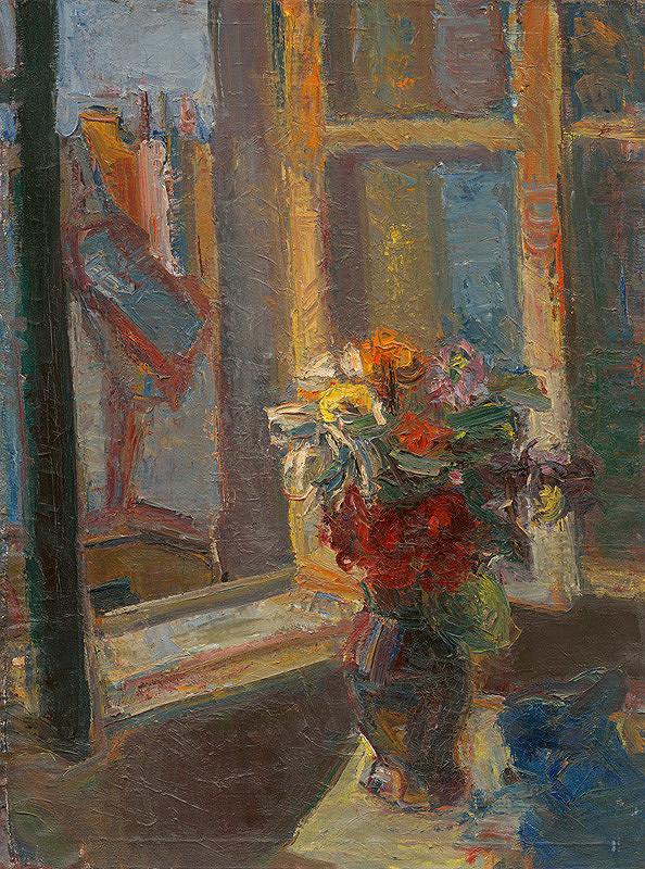 Gabriela Balažovičová - Kytica v okne