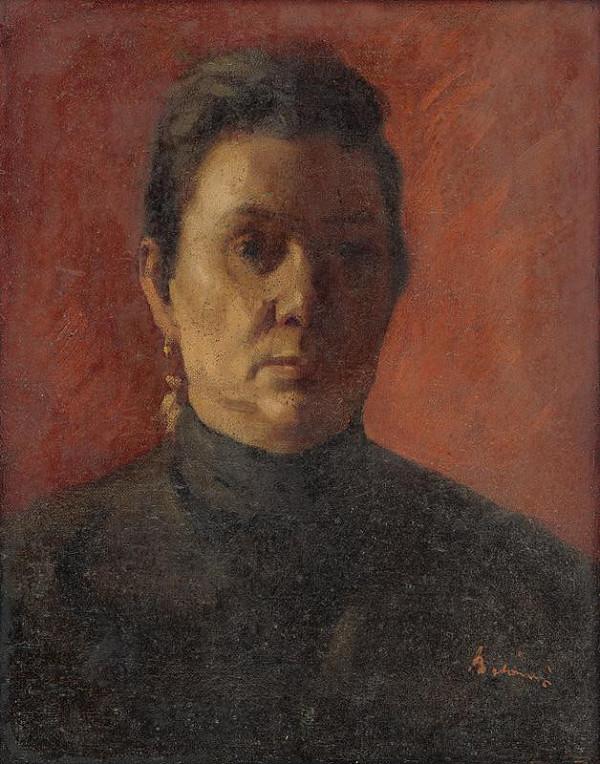 Viktor Belányi – Podobizeň umelcovej matky