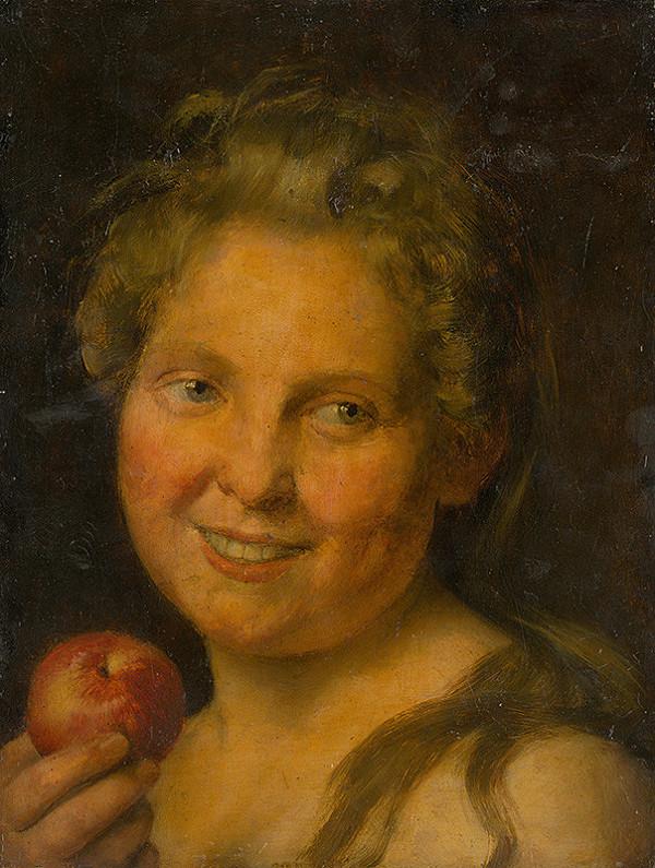 Ignác Roškovič - Dievča s jablkom