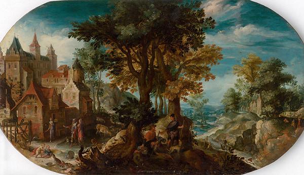 Nizozemský maliar z 3. tretiny 16. storočia, Anton Mirou - Vyhnanie Hagar