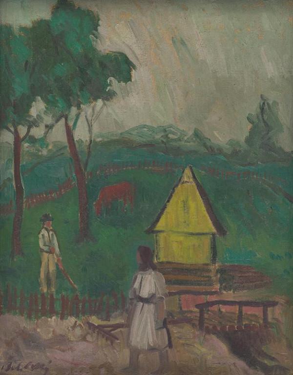 Ján Želibský – Žltá sypáreň