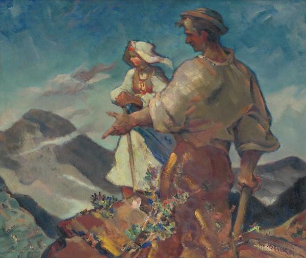 Martin Benka – Ľudia a hory