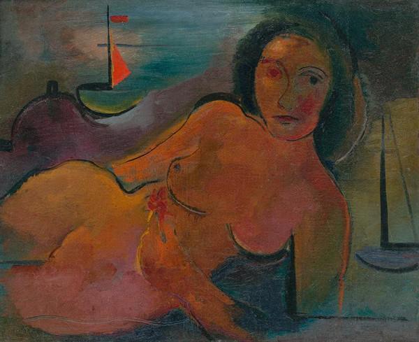 Imrich Weiner-Kráľ – Žena s loďkami