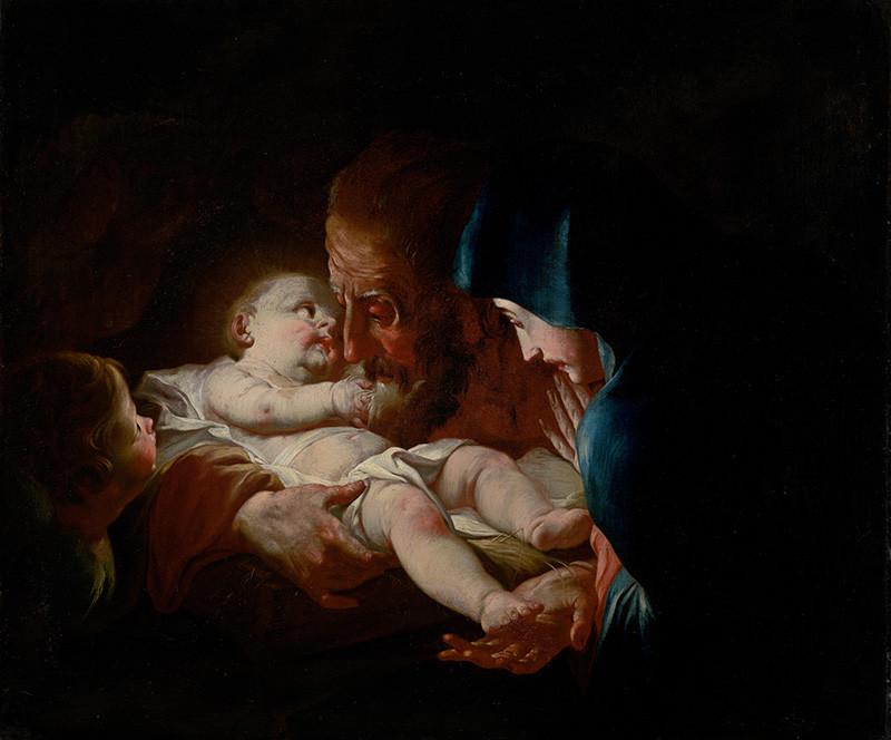 Josef Ignaz Mildorfer (okruh autora) – Svätý Jozef s rodinou, 1760 – 1780