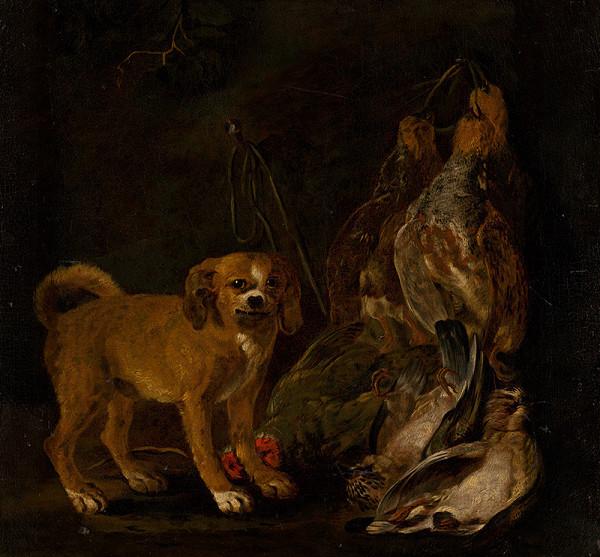 Jan Fyt – Lovecké zátišie so psíkom