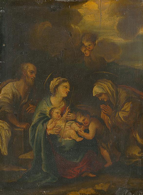 Nemecký maliar z 18. storočia - Svätá rodina