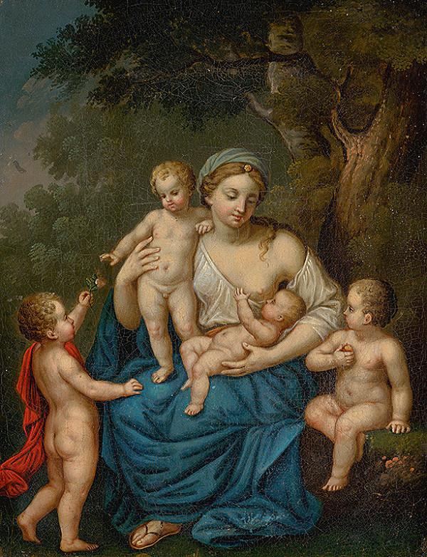 Stredoeurópsky maliar zo začiatku 19. storočia - Alegória materstva