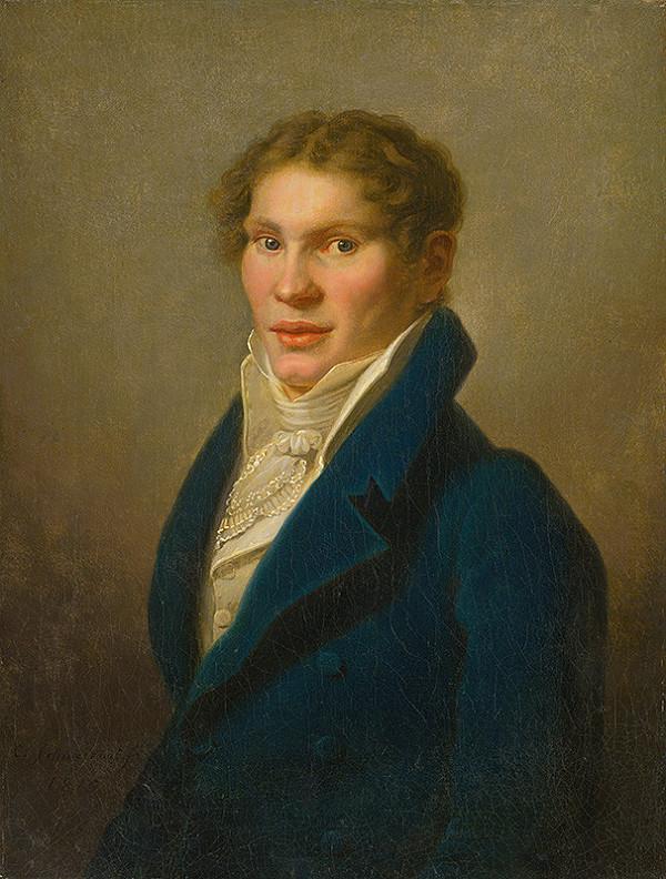 Karl Gottlieb Schweikart - Podobizeň mladého muža