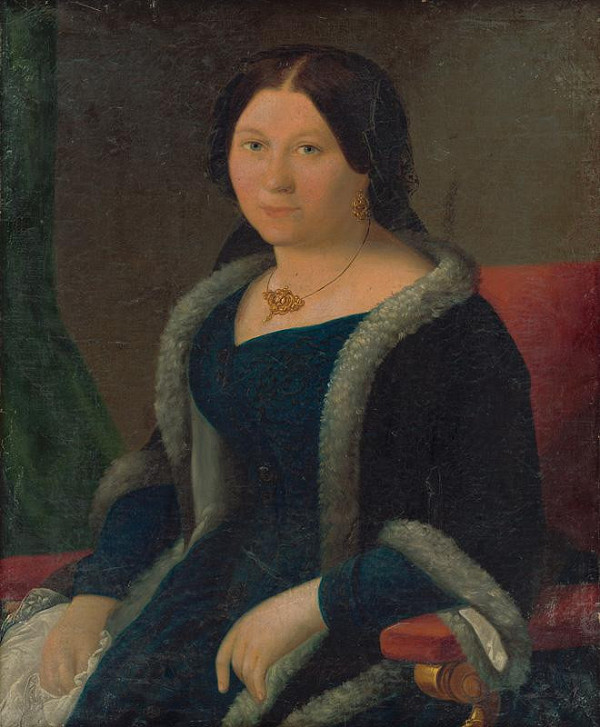 Miklós Barabás - Podobizeň mladej ženy