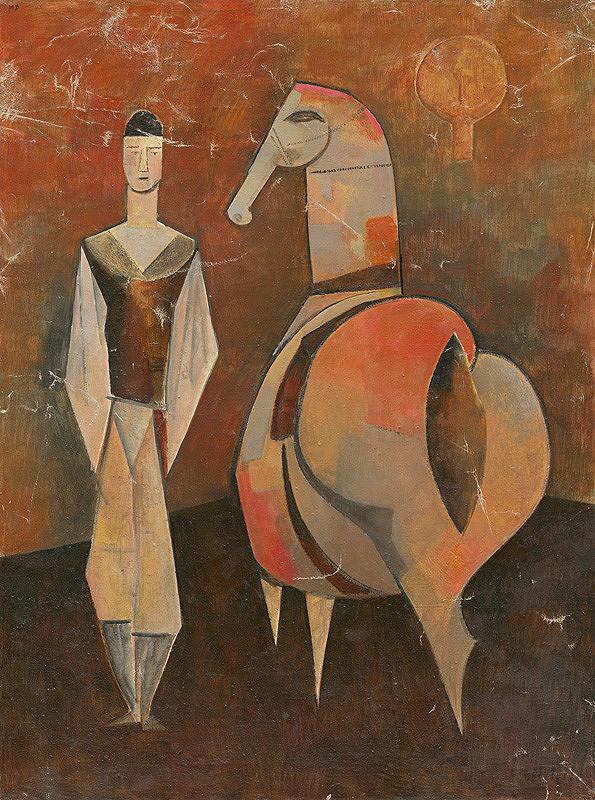 Milan Paštéka – Muž s koňom