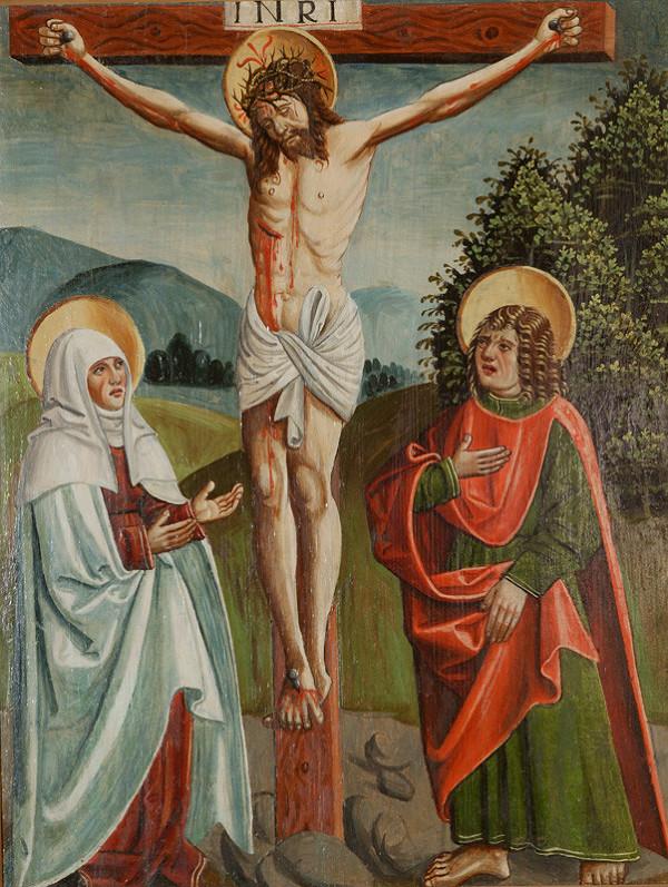 Slovenský maliar z 1. tretiny 16. storočia - Kristus na Hore Olivovej - 2 tabule
