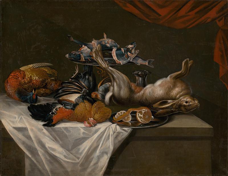 Nemecký maliar – Zátišie so zverinou, 1730 – 1740, Slovenská národná galéria