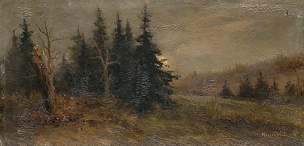 Felicián Moczik – Lesná krajina