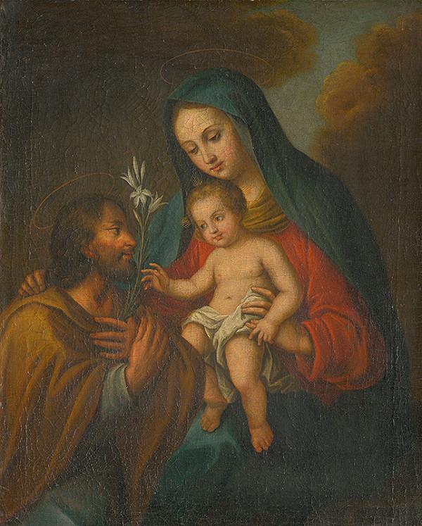 Stredoeurópsky maliar z prelomu 18. - 19. storočia – Svätá rodina