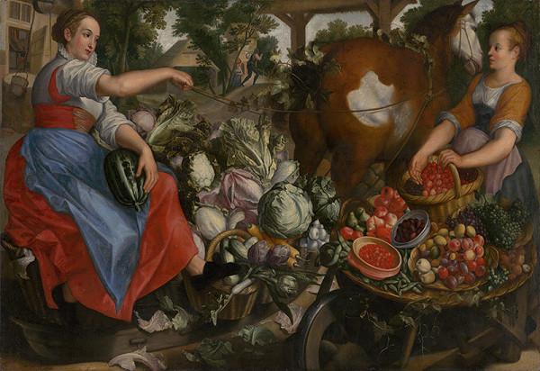 Nizozemský maliar, Joachim Beuckelaer – Ženy so zeleninou a ovocím