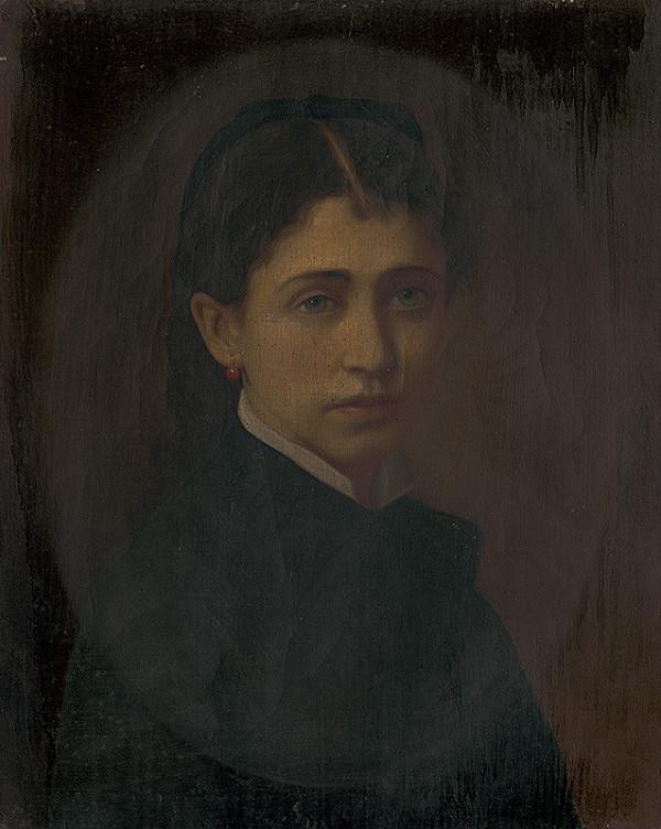 Stredoeurópsky maliar z konca 19. storočia – Podobizeň Netti Schottek