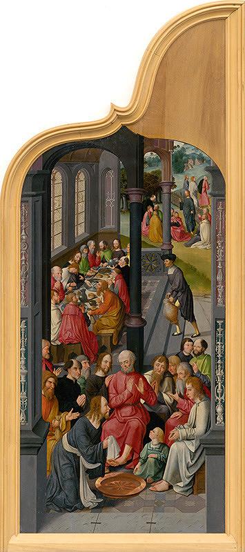 Nizozemský maliar zo začiatku 16. storočia, Majster z Alkmaaru – Posledná večera