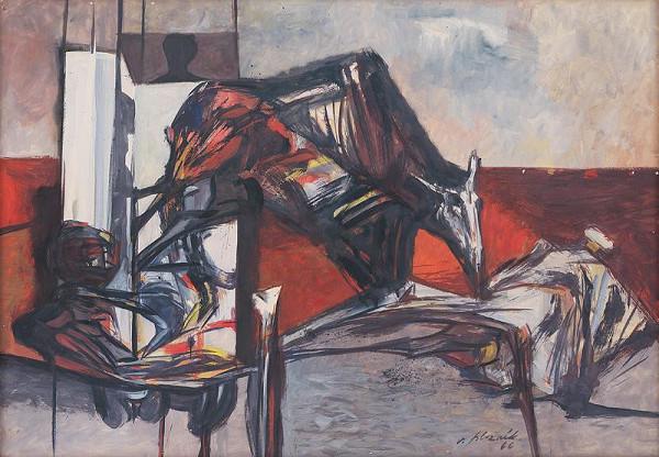 Vincent Hložník - Figurálna variácia III.