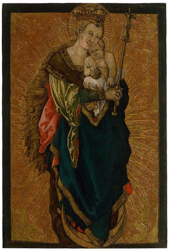 Stredoeurópsky maliar, Stredoeurópsky maliar zo začiatku 16. storočia, Albrecht Dürer - Madona na polmesiaci