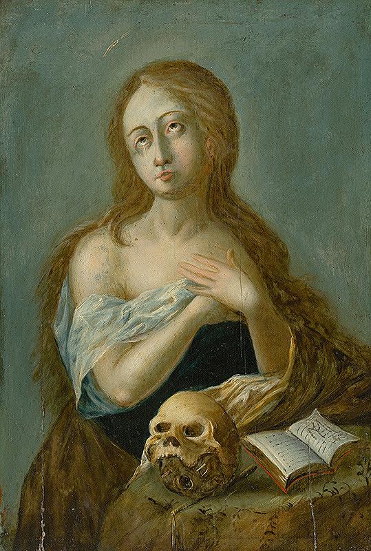 Nemecký maliar zo začiatku 17. storočia – Kajúca sa Magdaléna