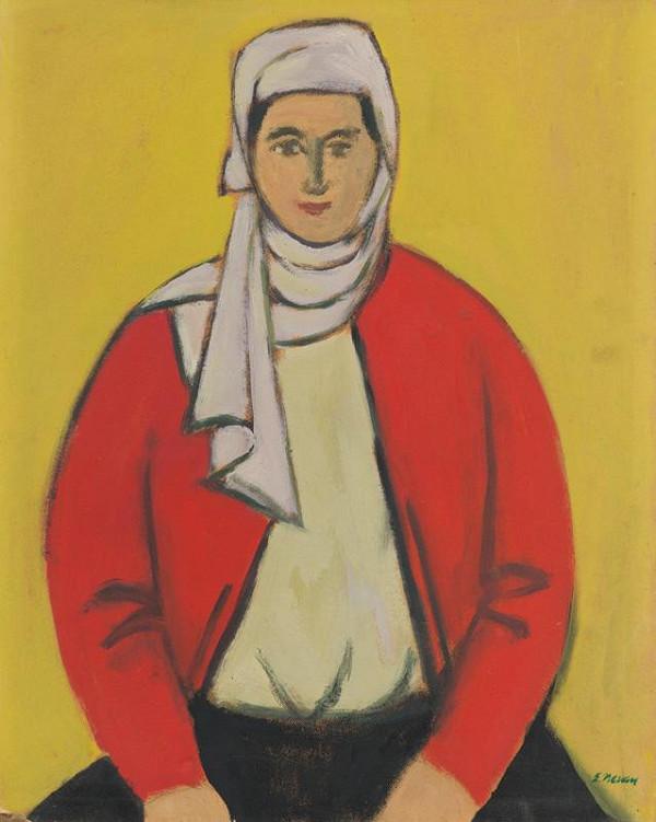 Eugen Nevan – Žena v šatke