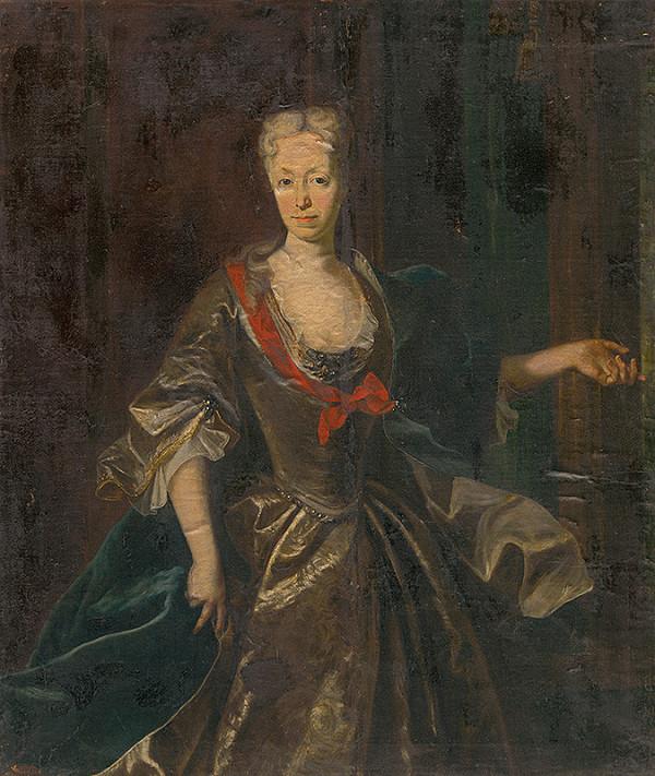Viedenský majster z konca 18. storočia - Portrét arcikňažnej