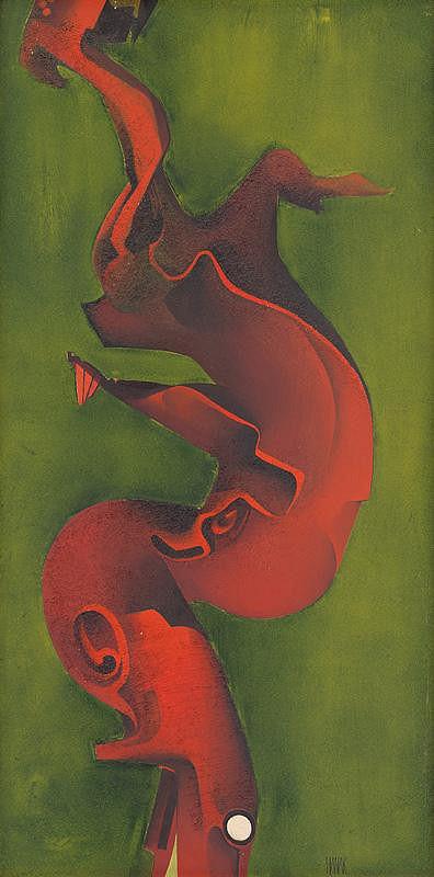 Ján Hanák – Červený tvar