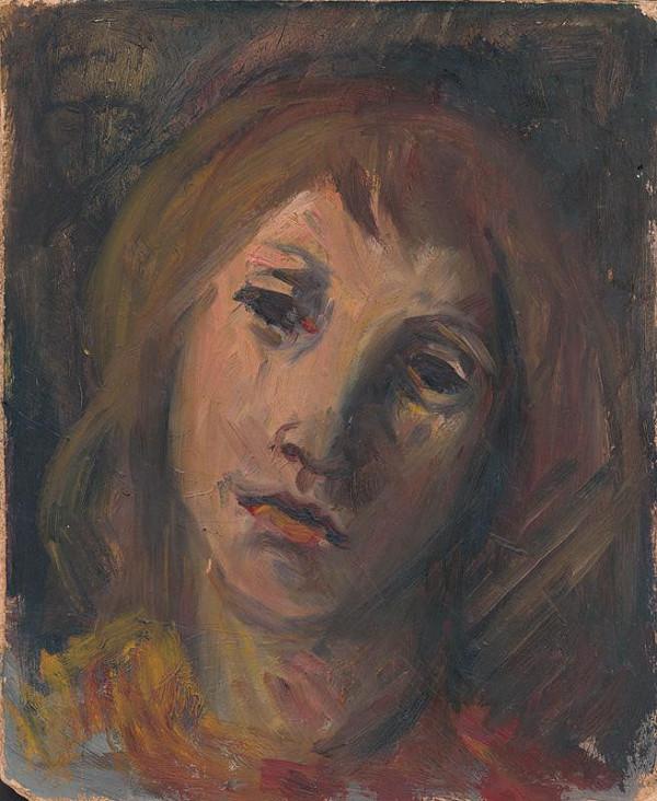 Ernest Špitz - Hlava dievčaťa