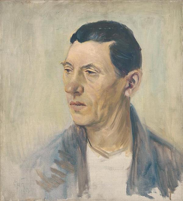 Ernest Špitz – Štúdia hlavy