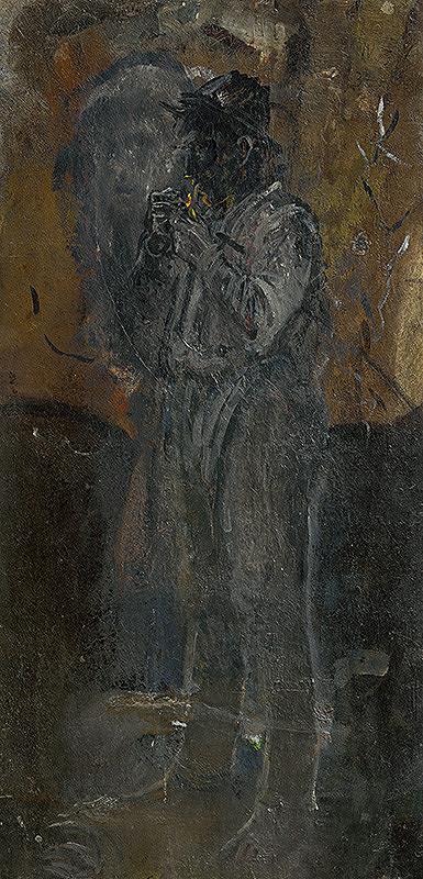 Ladislav Mednyánszky – Postava muža