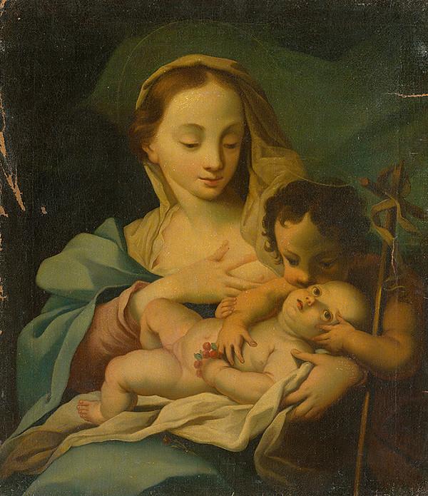 Autor kópie neznámy - Madona s dieťaťom