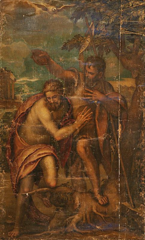 Stredoeurópsky kopista z 18. - 19. storočia - Kristov krst