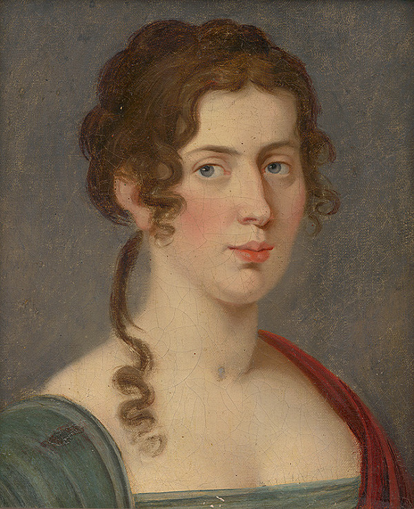 Stredoeurópsky maliar zo začiatku 19. storočia – Portrét ženy
