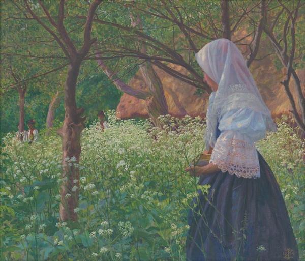 Ivan Žabota – Dievča v kroji