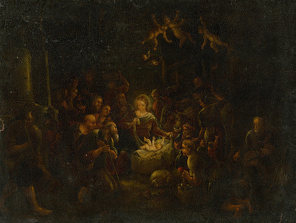 Nemecký maliar z 2. polovice 18. storočia - Narodenie Pána