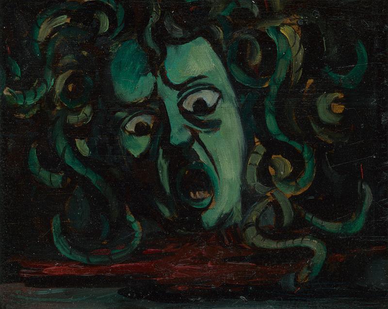 Eugen Nevan – Medúza, 1942, Slovenská národná galéria
