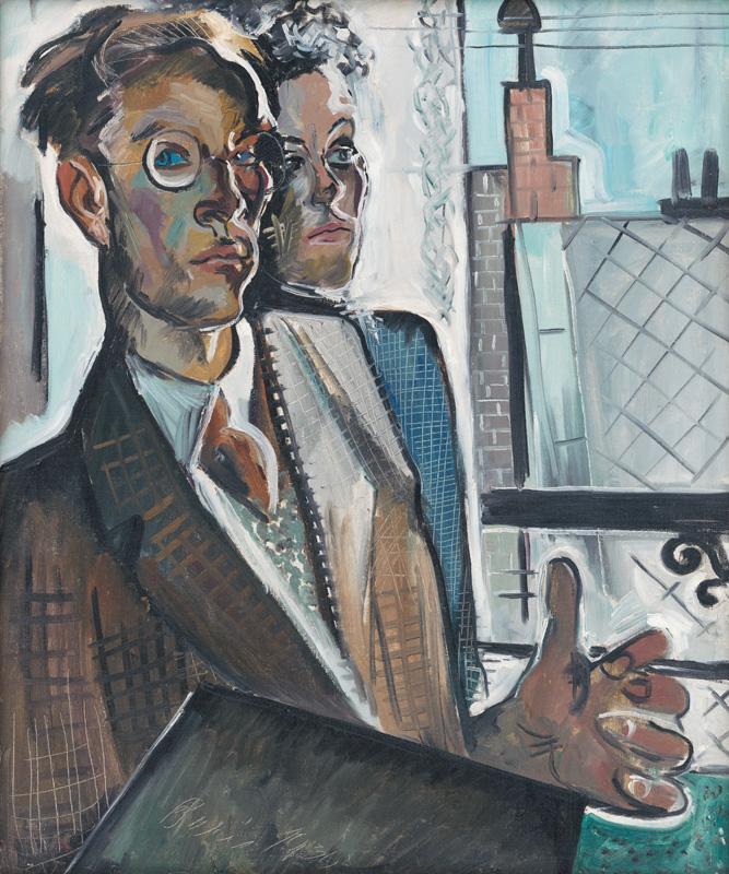 Imrich Weiner-Kráľ – Dvojportrét, 1930, Slovenská národná galéria