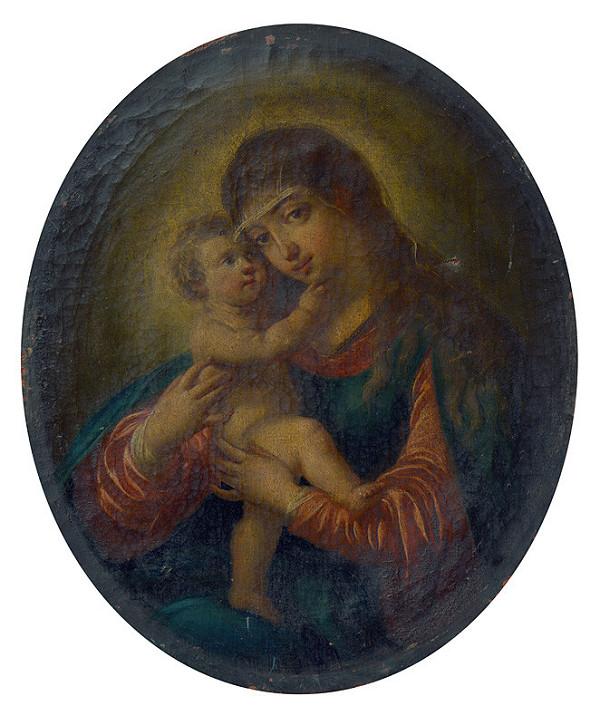 Nemecký maliar z 18. storočia – Pasovská madona