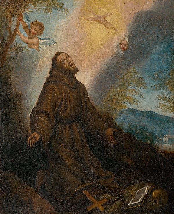 Autor kópie neznámy, Lodovico Cigoli – Stigmatizácia sv. Františka