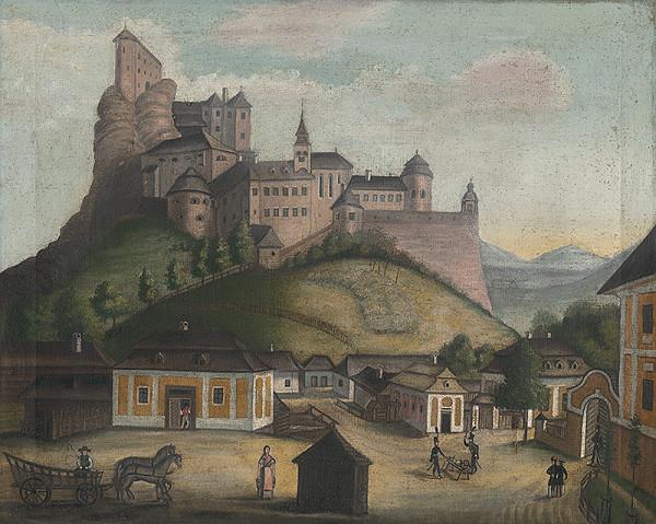Slovenský naivista z 19. storočia - Oravský zámok