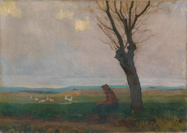 Július Koreszka - Pri vŕbe
