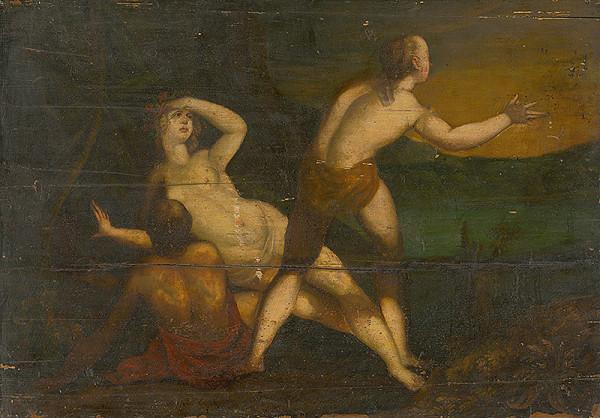 Stredoeurópsky maliar z 18. storočia - Figurálna kompozícia