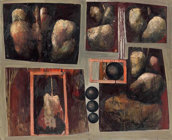 Rudolf Krivoš - Kompozícia s guľami