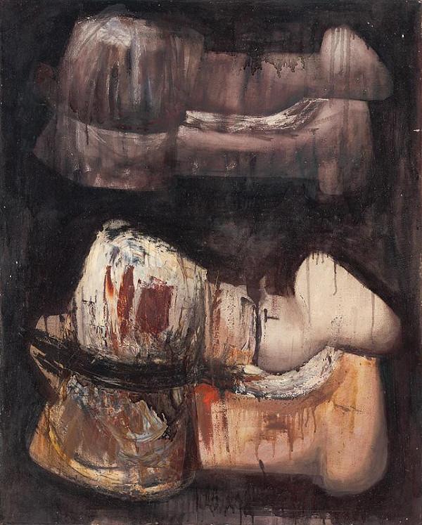 Rudolf Krivoš – Dve horizontálne figúry