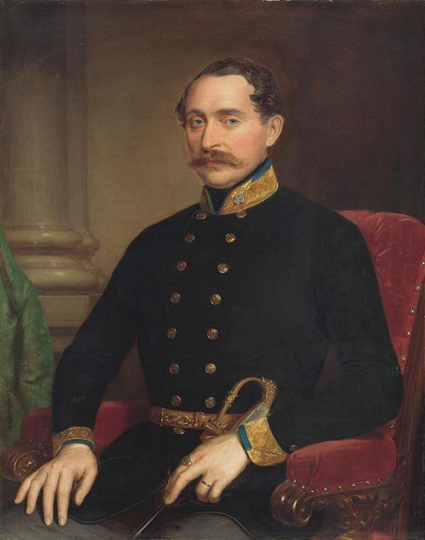 Miklós Barabás – Portrét hodnostára