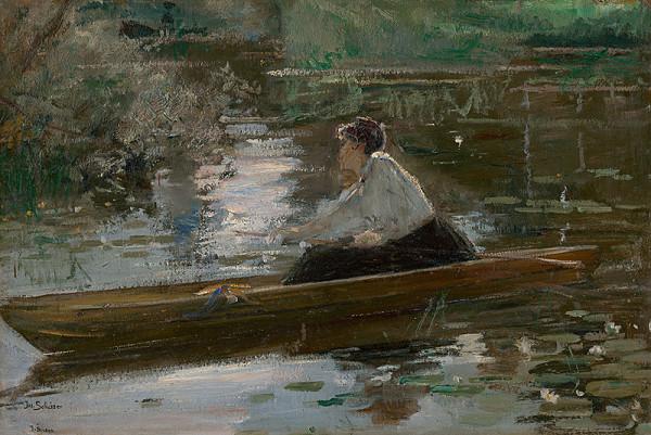 Josef Schusser - Dáma v loďke