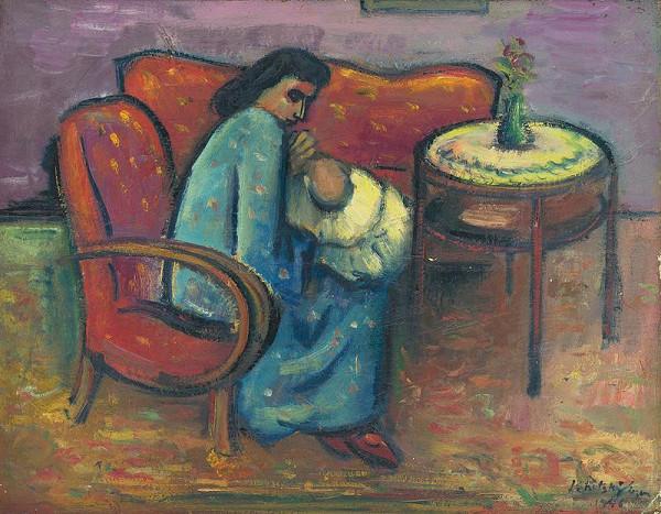 Eugen Lehotský - Pri kojení