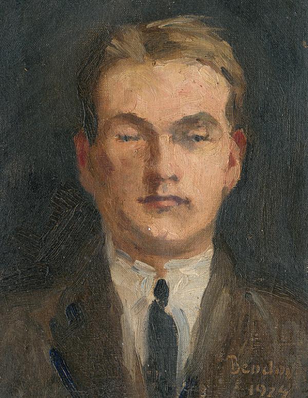 Marie Bendová – Portrét maliara Štefana Straku