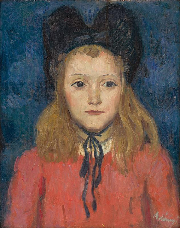 Viktor Belányi – Dievčatko v klobúku