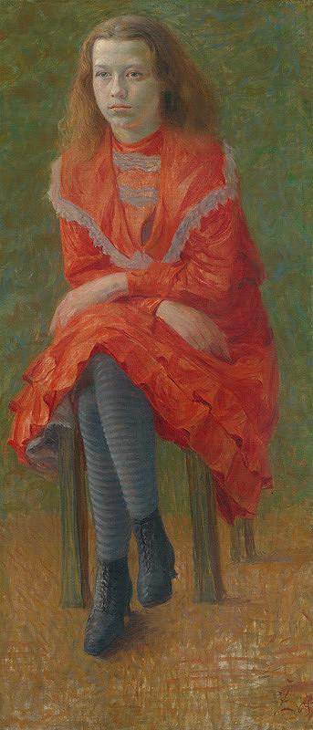 Ivan Žabota – Sediace dievča